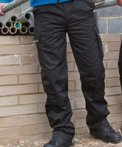 Action Trousers in Black
