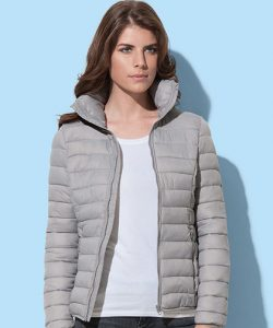 Active Padded Jacket for women in Black Opal