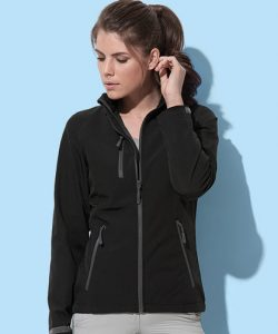 Active Softest Shell Jacket for women in Black Opal