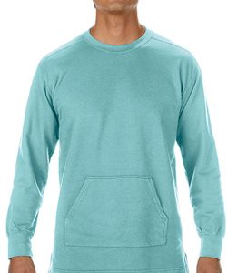 Adult French Terry Crewneck Sweatshirt in Blue Jean