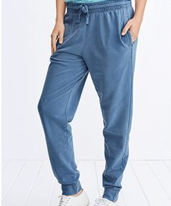 Adult French Terry Jogger Pants in Blue Jean