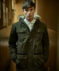 Ardwick Jacket in Dark Khaki