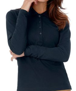 Polo Safran Pure Longsleeve / Women in Black