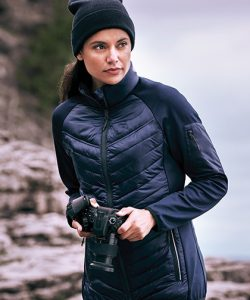 Banff Hybrid Insulated Jacket Women in Black