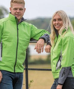 Blade Softshell Jacket in Lime