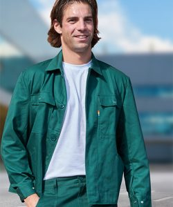 Classic Blouson Work Jacket in Moosgreen