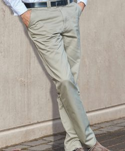 Classic Khaki Pants in Black