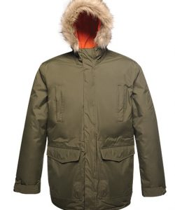 Classic Parka Jacket in Navy