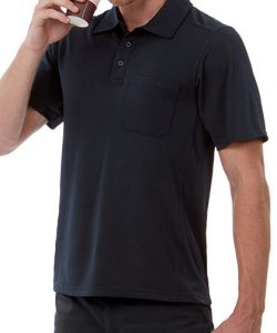 CoolPower Pro Polo in Black