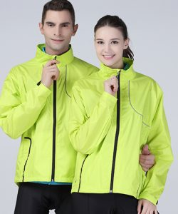 Crosslite Trail & Track Jacket in Neon Lime