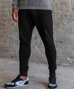 Dropped Crotch Jogpants in New French Navy
