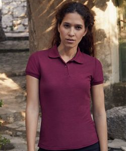 Ladies 65/35 Polo in Black