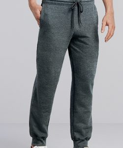 Heavy Blend™ Sweatpants with Cuff in Black
