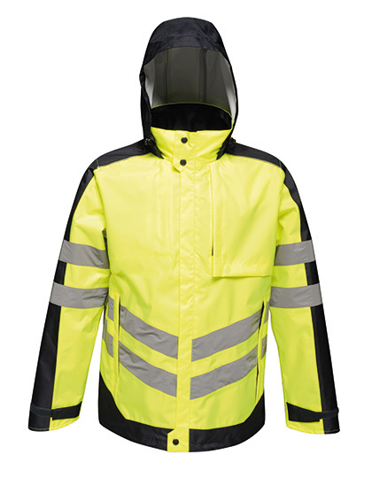 Hi-Vis Pro Insulated Jacket in Yellow
