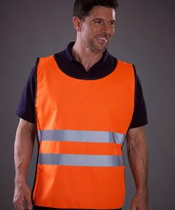 Hi Vis Tabard in Hi-Vis Orange