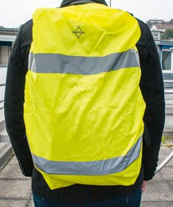 Hi-Viz Cover for backpacks EN 13356 in Signal Yellow