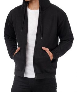 ID.205 Sweat-Jacket 50/50 in Anthracite