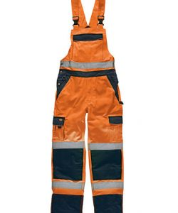 Industry Warnschutz Latzhose EN20471 in Orange