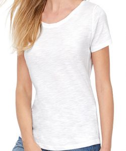 Inspire Slub T / Women in Chic Anthracite