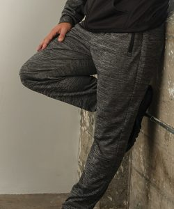 Joggers in Heather Charcoal