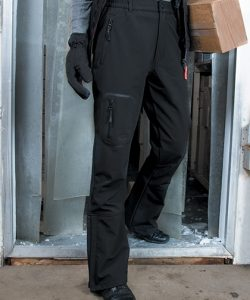 Ladies` Tech Performance Soft Shell Trouser in Black
