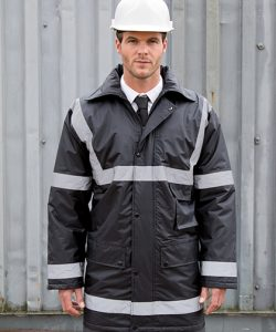 Management Coat in Black
