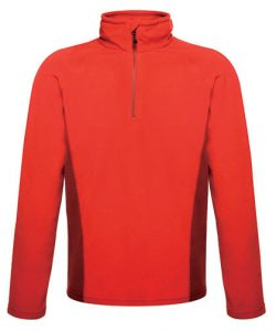 Men`s Ashmore Half Zip Fleece in Black