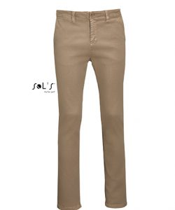 Men`s Chino Trousers Jules - Length 35 in Chestnut