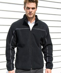 Men`s Huggy Jacket in Black