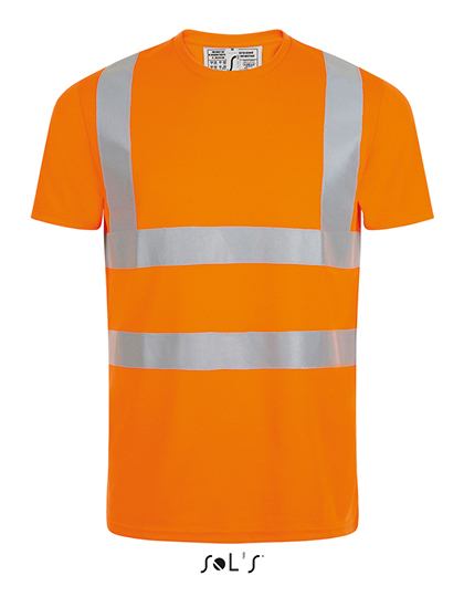 Mercure Pro T-Shirt in Neon Orange