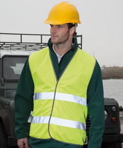 Motorist Safety Vest in Fluorescent Yellow