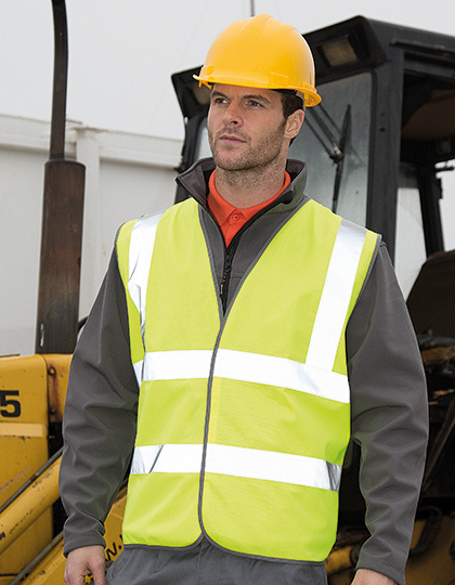 Motorway Vest in Fluorescent Orange