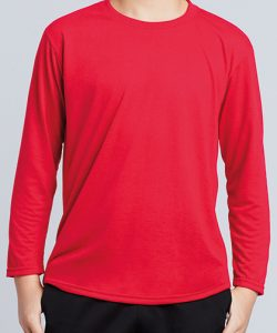 Performance® Youth T-Shirt Long Sleeve in Black
