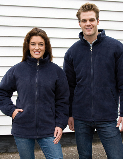 Polartherm™ Quilted Winter Fleece in Black
