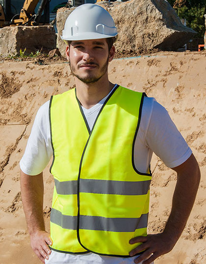Safety Vest EN ISO 20471 in Signal Orange
