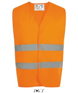 Secure Pro Unisey Safety Vest in Neon Orange