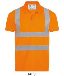 Signal Pro Polo Shirt in Neon Orange