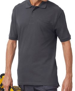 Skill Pro Polo in Black