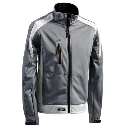 Softshelljacke Athletic grau-hellgrau - KORSAR