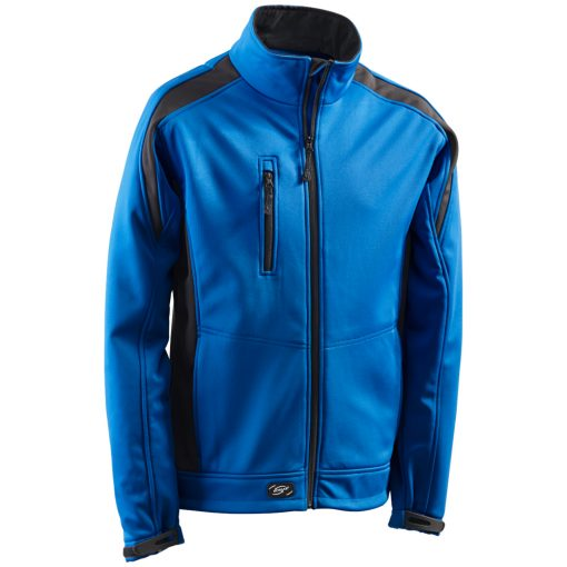 Softshelljacke Athletic royalblau-schwarz - KORSAR