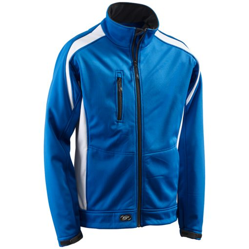 Softshelljacke Athletic royalblau-weiß - KORSAR