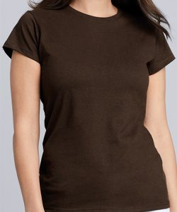 Softstyle® Ladies` T- Shirt in Antique Cherry Red (Heather)