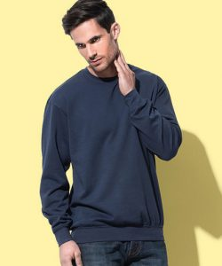 Sweatshirt in Black Opal