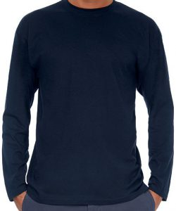 T-Shirt Exact 150 Long Sleeve in Ash (Heather)