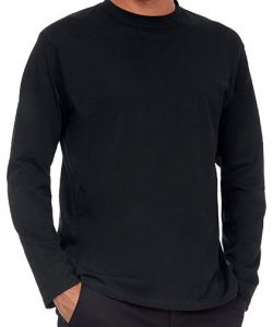 T-Shirt Exact 190 Long Sleeve in Black