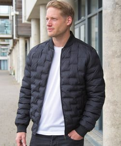Ultrasonic Rib MA1 Jacket in Black