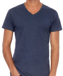 V-Neck Triblend T-Shirt /Men in Black