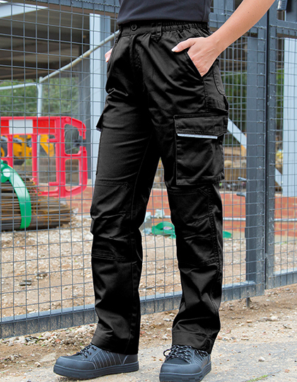 Womens Action Trousers in Black