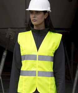 Women`s High Viz Tabard in Fluorescent Pink