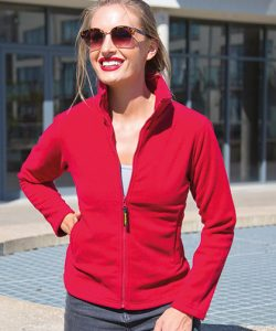 Women`s Horizon Micro Fleece Jacket in Black